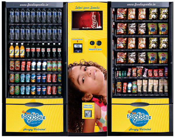 Retail vending outlet