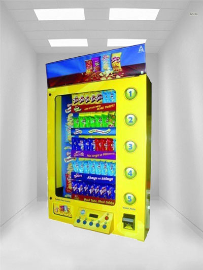 Wall Mountable Vending Machine