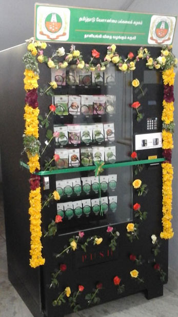 Beeta Seed Vending Machine
