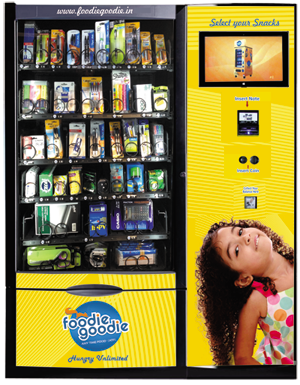 Stationary Vending Machine