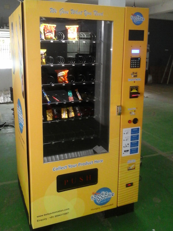 Beeta Snacks Vending Machines